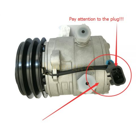 For Bobcat Skid Steer Loader A220 A300 S150 S160 S175 S185 S205 S220 S250 S300 S330 Air Conditioning Compressor 6733655