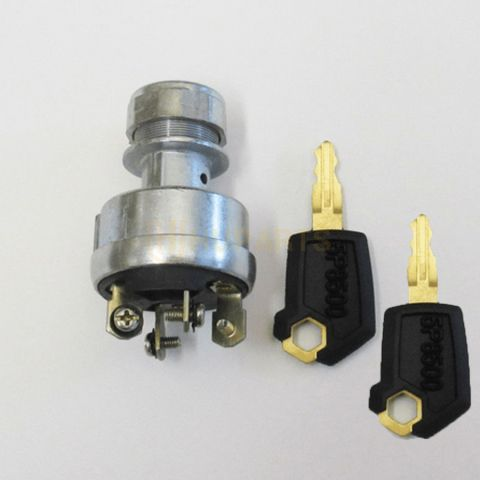 For Caterpillar Excavator CAT 229 306 320 330 322 375 Ignition Switch 4 Wire With 2 Keys 9G-7641