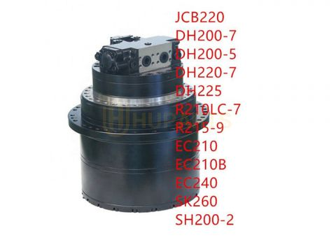 Construction Machinery parts R210lc-7 R210-7 Final Drive Device GM40 TM40 Excavator Travel Motor Assy
