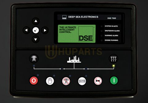 DEEP SEA DSE7560 AUTO TRANSFER SWITCH AND MAINS (UTILITY) CONTROL MODULE