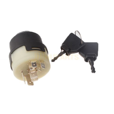 For JCB 8014 8018 803 PLUS Ignition Switch With Two Keys 701/80184