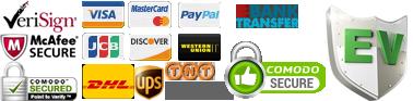 payment method aftermarket parts